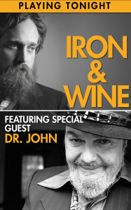 IronWinePlayingTonight