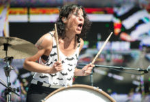 Matt & Kim at Chive Music Festival